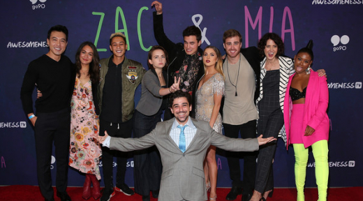 In This Photo: James Boyd, Sabrina Revelle, John Ohye, Jason Pearlman, Chantz Simpson, Anne Winters, Kian Lawley, Alexis G. Zall, Meg DeLacy, Keli Daniels